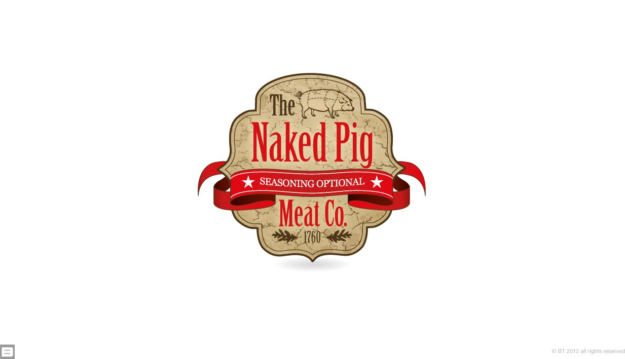 Help The Naked Pig Meat Co. with a new logo