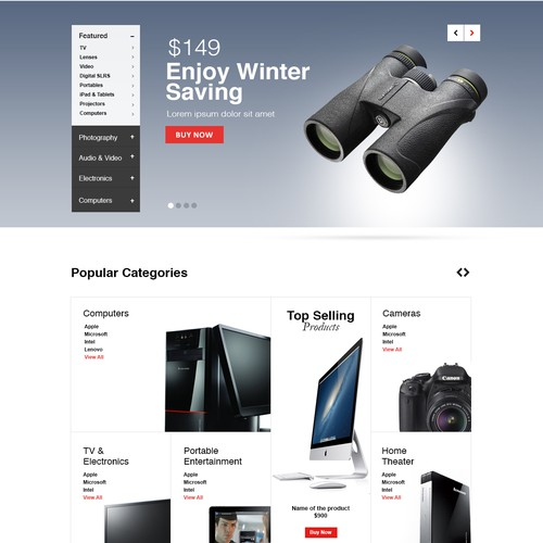 Create a winning Design For CircuitStreet.com Webiste & product page