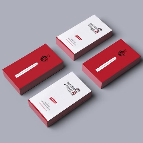 Create a cheeky, fun business card