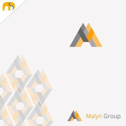 logo design for Malyn Group