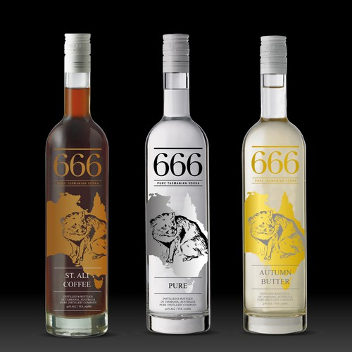 Help Create the bottle design for an internationally recognized craft vodka