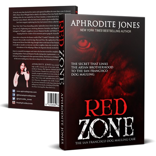 The Next Cover to Red Zone From Crime Author Aphrodite Jones