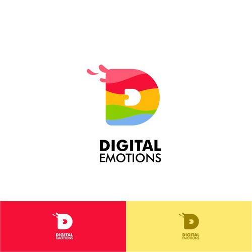 DIGITAL EMOTIONS logo..