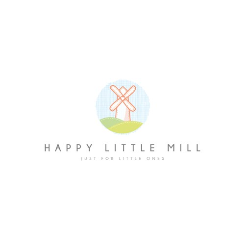 Happy Little Mill - Clean, soft & minimal - Winning design