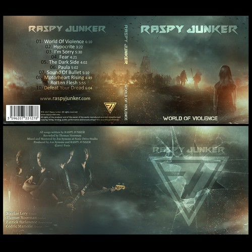 Raspy Junker Album Cover