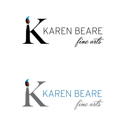 Logo design for Fine Arts Artist
