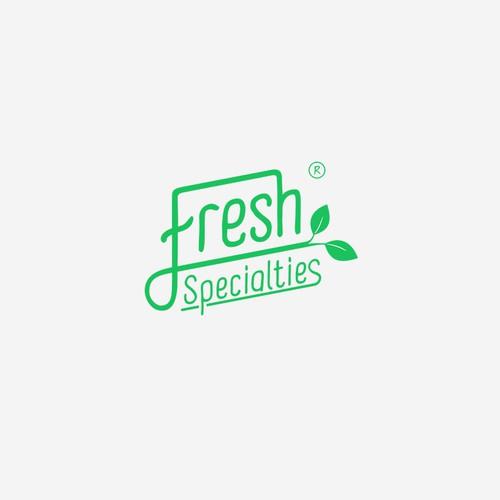 Fresh, natural logo for fresh herb supplier
