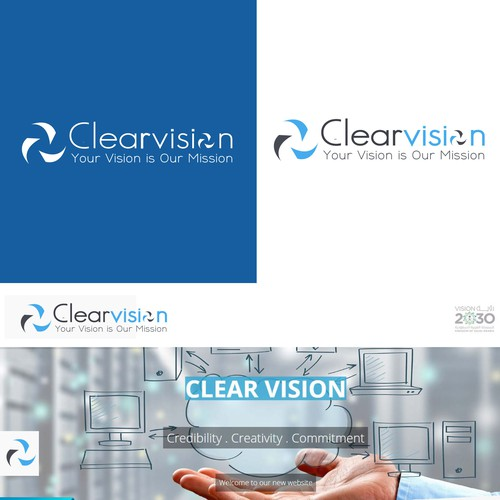Logo concept for Clearvision