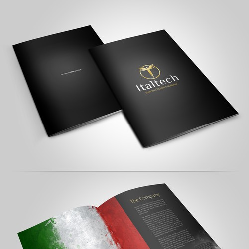 Booklet for Italian Fit-out company company profile and portfolio.
