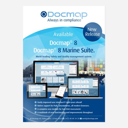 an impressive poster for the release of Docmap 8