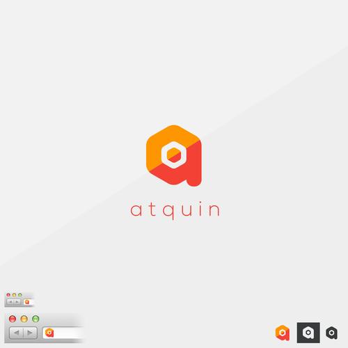 atquin logo design