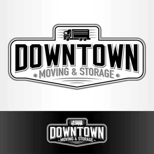 Help Downtown Moving and Storage with a new logo