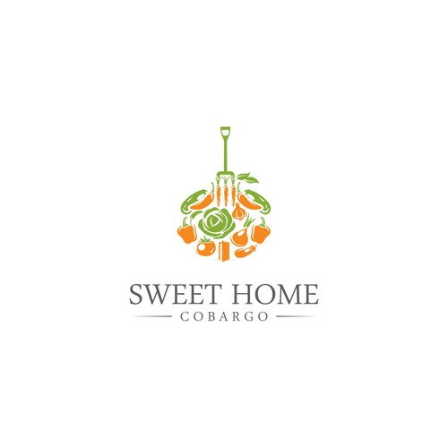 Create a logo for a fresh produce/organic whole-foods/cafe business