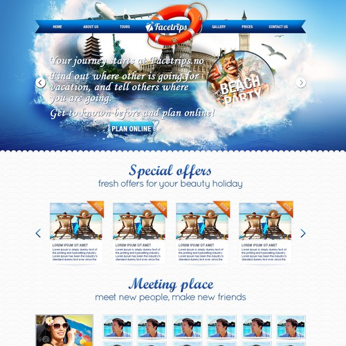 Travel company design