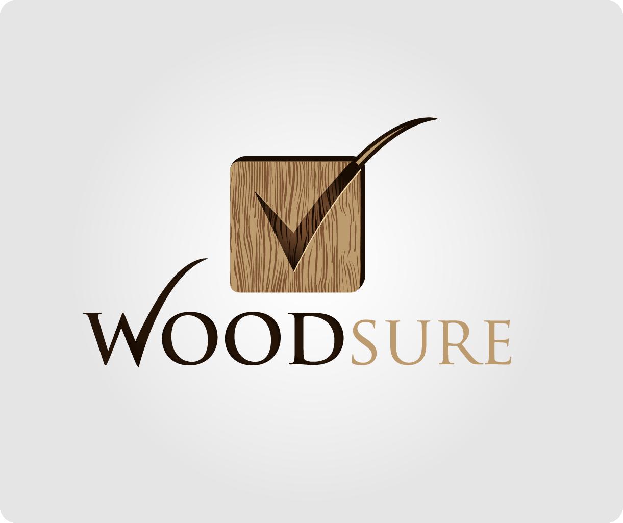 Create the next logo for WOODsure