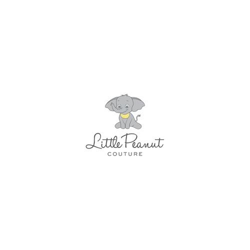 Little peanut fashion logo