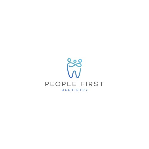 Logo for a new high family and cosmetic dental office.