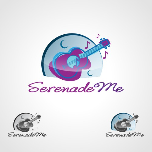 SerenadeMe ... hand crafted music needs logo...