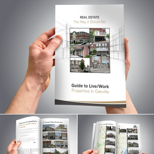 Real Estate Properties Brochure Design