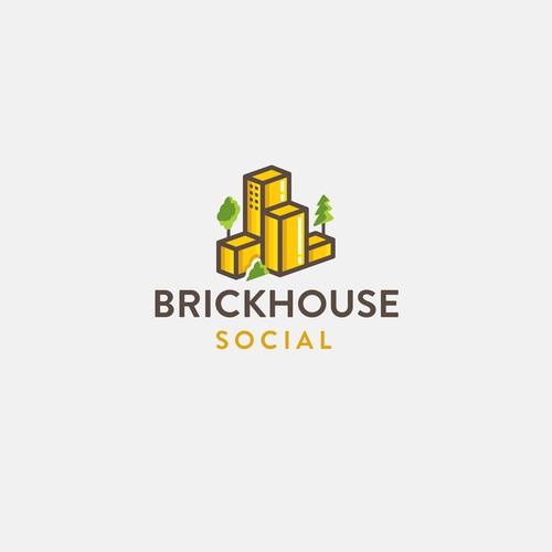 Logo concept for Brickhouse