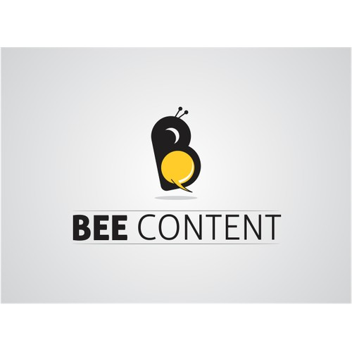 Create vivid logo for Bee Content; production company specialised in branded content & storytelling!