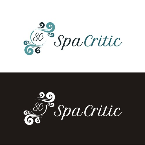 Creating Logo for Spa Critic - A Review Site for High End Fitness Spas