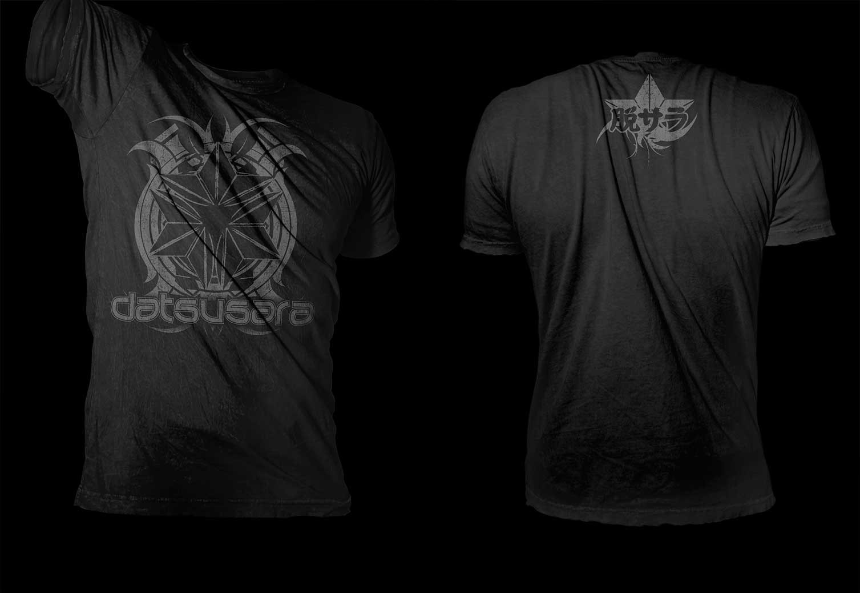 T Shirt design for modern hemp gear company