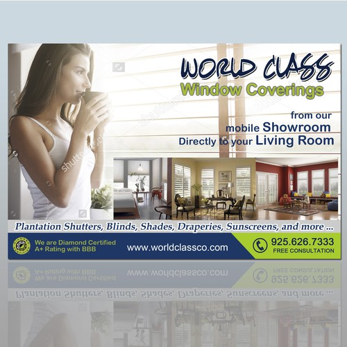Flyer: World Class - Windows Covering