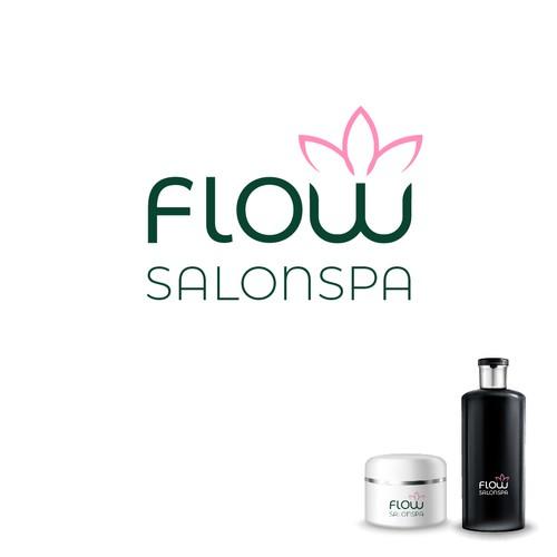 LOGOTIPO FLOW SALONSPA