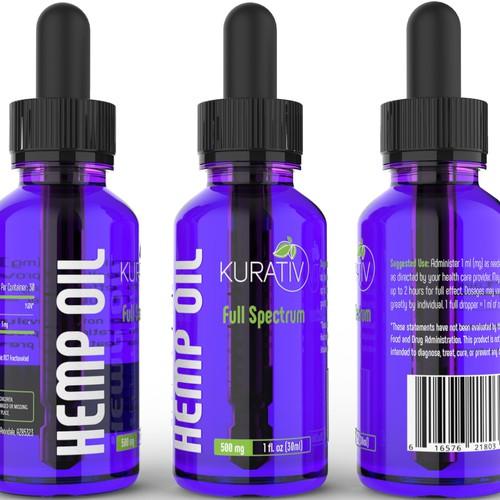 Label design for Kurativ