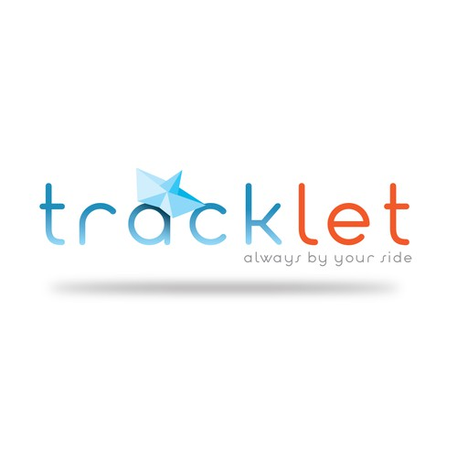 Tracking device logo