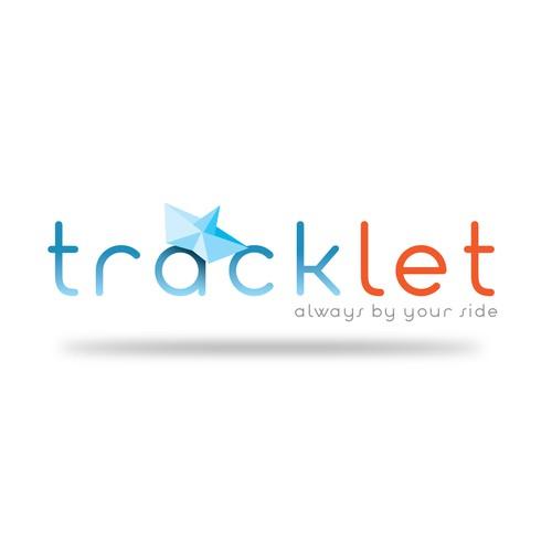 Tracking device logo
