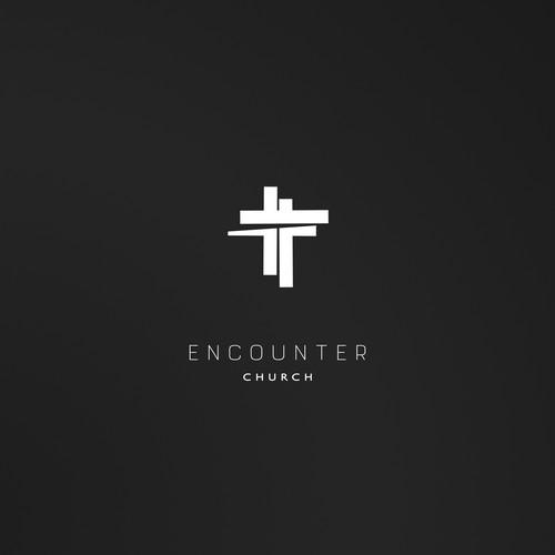 Evocative contemporary icon for a millennials focused church