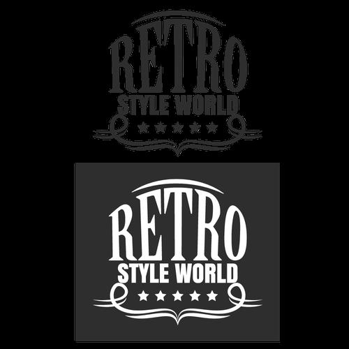 Logo Concept for Retro Style World