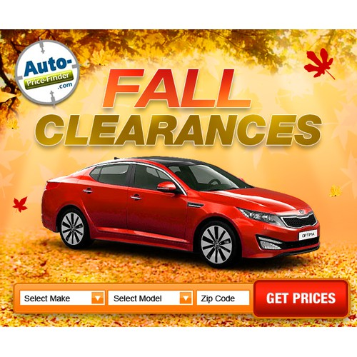 Fall banner ad wanted for Hip New Automotive Company