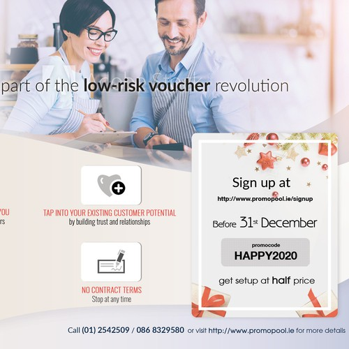 Promopool company for online vouchers