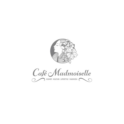 Concept logo for cafe