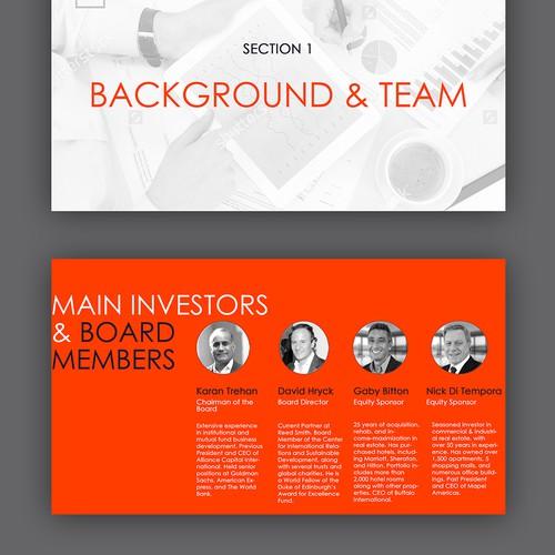 USDV PowerPoint Presentation Design