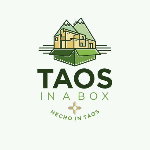 Logo design entry for Taos in the Box