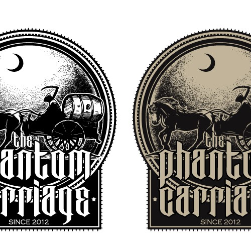 The Phantom Carriage Brewery needs a new logo