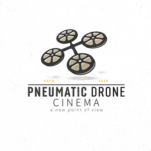 Logo for a drone cinematography company
