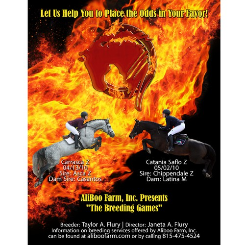 Magazine Cover for Breeding Farm