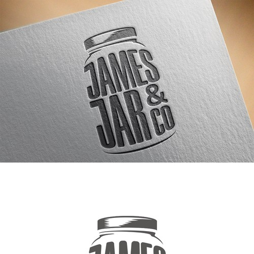 Logo Concept for Food in a Jar
