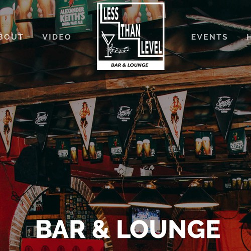 Bar and Lounge Website
