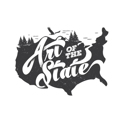 Art of the State logo design