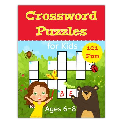 crossword book cover