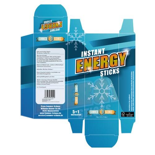instant energy sticks