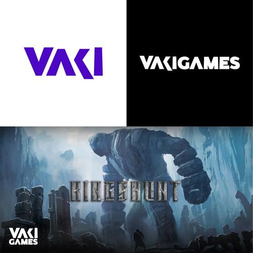 Vaki Games Logo Design