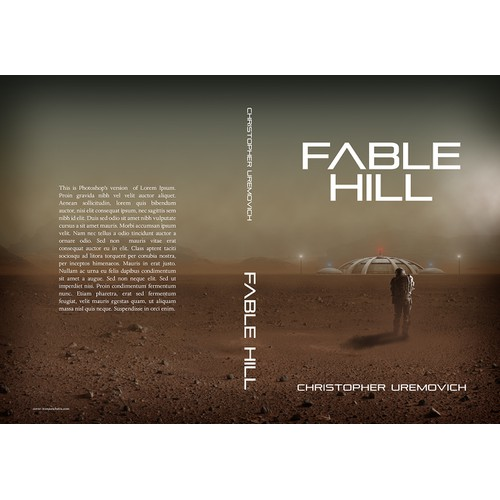 """Create a """"captivating"""" science fiction book cover. Guaranteed payment. Daily feedback and ratings."""