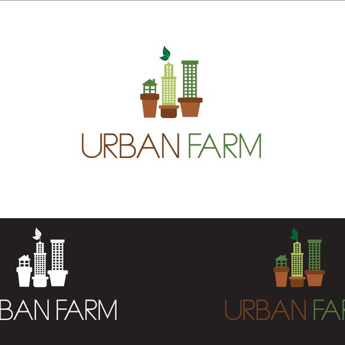 Logo Concept for Urban Farm